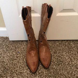 Dingo Shoes - Dingo cowboy boots with cut outs